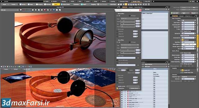 آموزش ویری برای مودو : دوربین فیزیکال کمرا V-Ray for MODO Physical Camera
