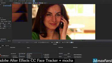 Photo of آموزش ترکینگ صورت افتر افکت موکا پرو After Effects Face Tracker mocha