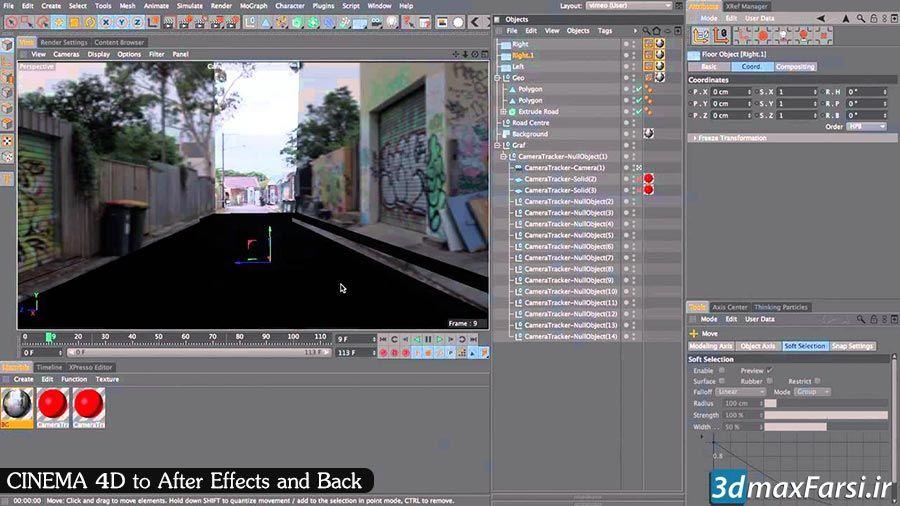 Photo of آموزش انتقال فایل افترافکت به سینمافوردی و برعکس After Effects Cinema 4d