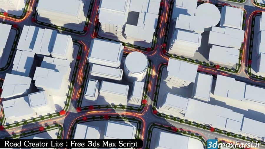 اسکریپت ساخت خیابان و جادهRoad Creator Pro v2.03