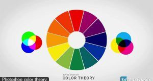 آموزش تئوری رنگ فتوشاپ سی سی Photoshop Color Theory