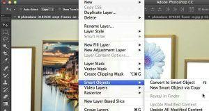 آموزش اسمارت آبجکت فتوشاپAdobe Photoshop Smart Objects