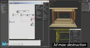 آموزش تخریب تری دی مکس3ds max