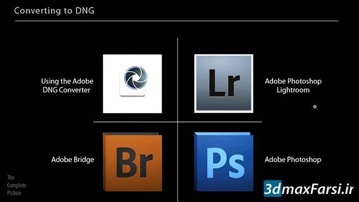 آشنایی با فرمت دی ان جی فتوشاپ Photoshop DNG Format