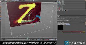 آموزش تنظیم RealFlow WetMaps برای شبیه سازی سینمافوردی