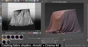 آموزش ساخت شیدرهای واقع گرایانه آرنولد برای سینمافوردی Arnold Cinema 4d
