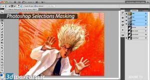 آموزش تکنیک های ماسک پیشرفته در فتوشاپ Photoshop Selections Masking