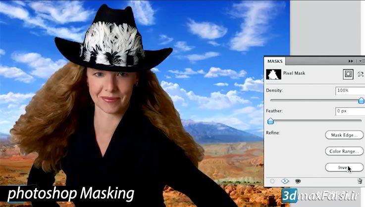 فیلمآموزش ماسکدرفتوشاپ انواعوکتورماسکAdobe Photoshop Masking