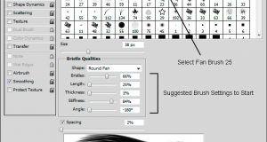 آموزش ابزار نقاشی فتوشاپ Adobe Photoshop CC Painting Tools
