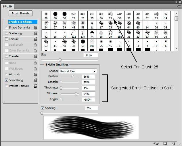 آموزش ابزارهای نقاشی فتوشاپ Adobe Photoshop CC Painting Tools