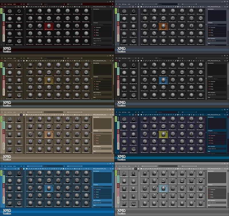 آشنایی با پلاگین قلموی زیبراش ZBrush XMD ToolBox Plug-in Features