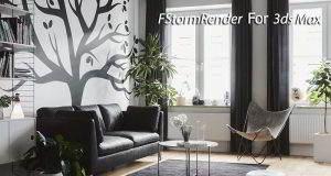 دانلود پلاگین FStormRender 3ds Max اینجین رندر سه بعدی آموزش نصب کرک فارسی