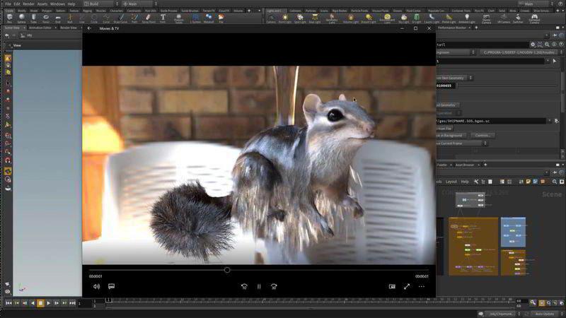 آموزش شبیه سازی مو خیس هودینی Houdini 16.5 Fur Hair