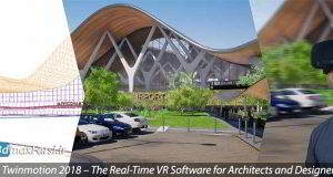 آموزش تجسم نمایی ریل تایم و واقعیت مجازی توین موشن Twinmotion The Real-Time VR | دانلود