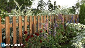 پکیج آبجکت درخت و گل گیاه سه بعدی XfrogPlants