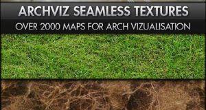 دانلود پکیج کامل تکسچر معماری Archviz – Seamless Textures Bundle
