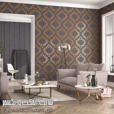 دانلود مجموعه تکسچر کاغذ دیواری : سادهکلاسیک وسه بعدی Rasch Wallpaper Textures Collection