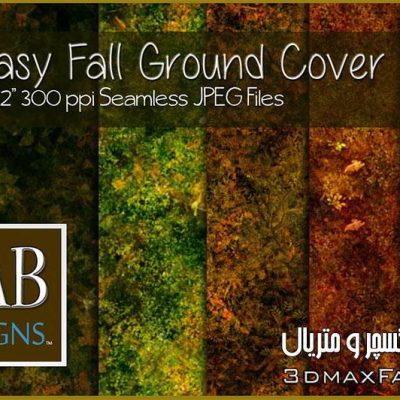 تکسچر چمنبرای فتوشاپ Seamless Fantasy Fall Ground Cover