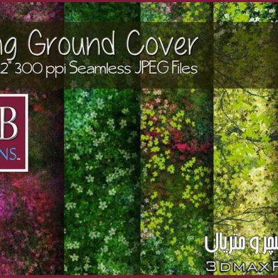 دانلودتکسچر چمنبرای تری دی مکس Seamless Spring Ground Cover