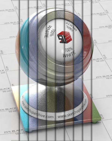 خرید پکیج متریال ویری برای اسکچاپ Sketchup vray materials
