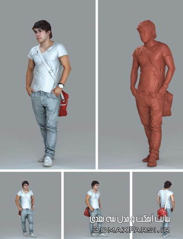 AXYZ Design Ready Posed 3D Humans