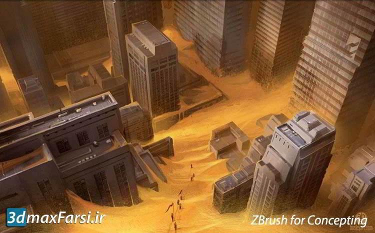 آموزش طراحی کانسپت زیبراش ZBrush Concepting
