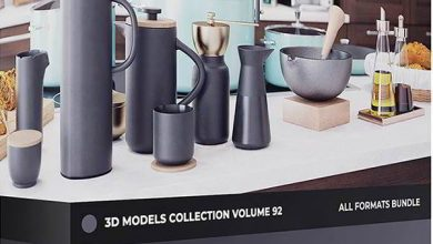 Photo of دانلود پکیج آشپزخانه سه بعدی Kitchen Utensils 3D Models Collection 92