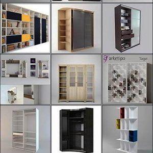 آبجکت کابینت - دانلود رایگان مجموعه آبجکت و مدل سه بعدی کابینت