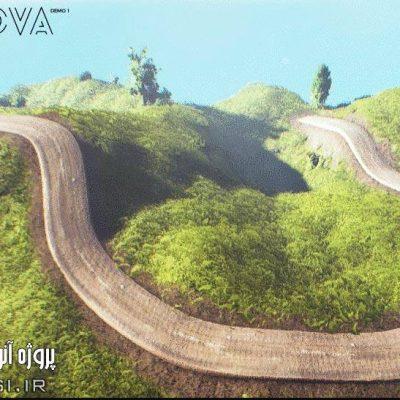دانلود پروژه آماده آنریل انجین محیط بازی سه بعدی Unreal Engine 4