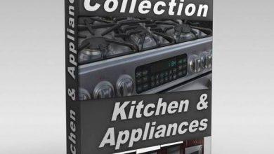 آبجکت آشپزخانه و لوازم خانگی سبک برای تری دی مکسآبجکت آشپزخانه و لوازم خانگی سبک برای تری دی مکس
