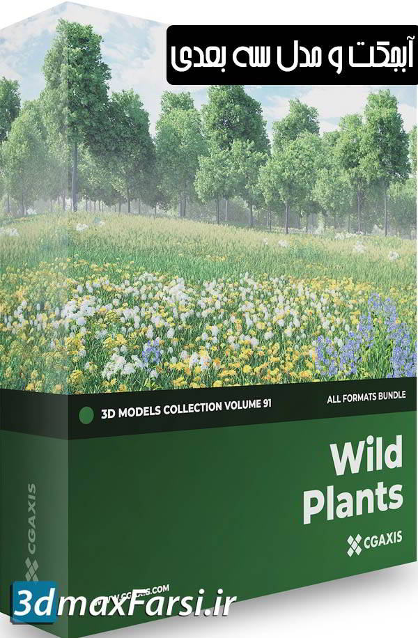 Cgaxis Models Volume.091 Wild Plants free download
