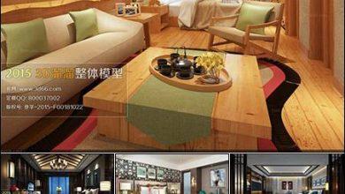 Photo of اتاق خواب به سبک آسیایی 3D66 Southeast Asia Bedroom Style 3D66 Interior 2015