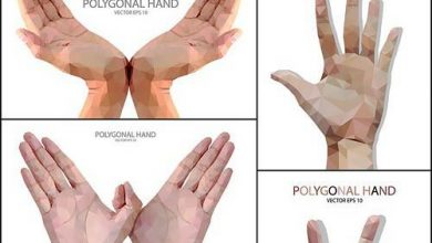 Photo of دانلود وکتور لایه باز علامت دست انسان + اشاره با انگشت (EPS, JPG)