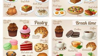 دانلود بهترین مجموعه آیکون غذا و میوه نوشیدنی Food And Drink Icon