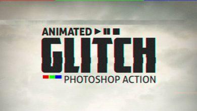 Photo of اکشن فتوشاپ انیمیشن قطعی دیجیتال به همراه آموزش ویدئویی Animated Glitch