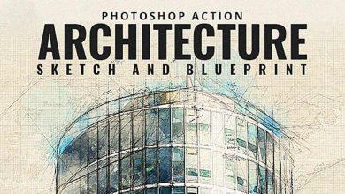 دانلود بهترین اکشن فتوشاپ مخصوص معماری (اسکیس معماری و راندو)