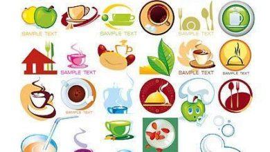 Photo of دانلود مجموعه آیکن گرافیکی + وکتور (غذا و رستوران) Icons Food : jpg, eps