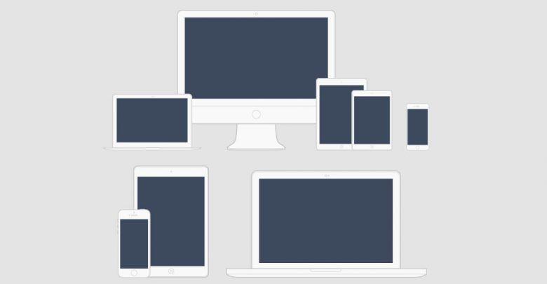 طرح وکتور مینیمال برای تجهیزات الکترونیکی