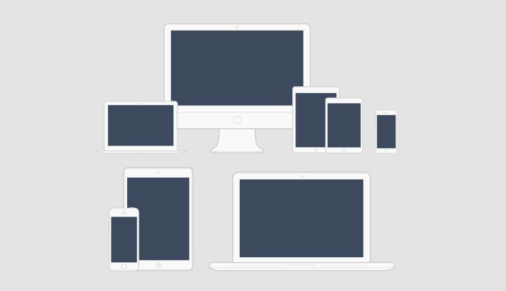 دانلود وکتور خطی لوازم الکترونیکی برقی graphicriver Minimal Vector Devices