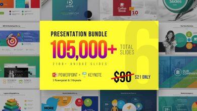 دانلود پکیج کامل آماده حرفه ای پاورپوینت کی نوت CM Business Presentation Mega Bundle