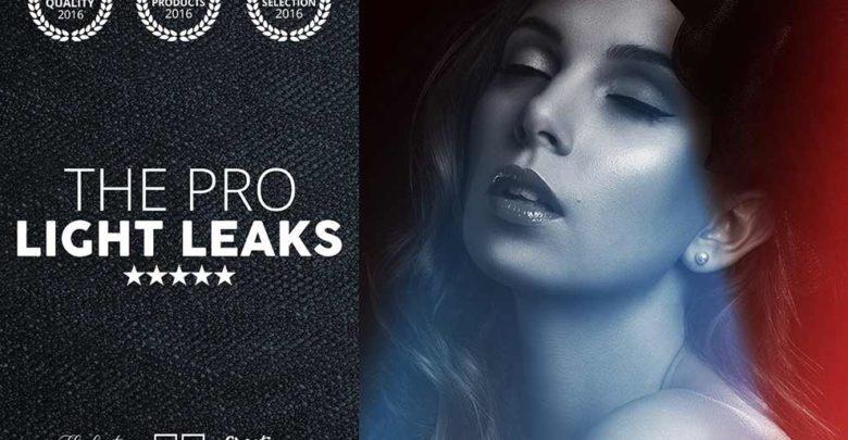 دانلودافکت نشت نورPro LIGHT LEAKS 95 Photoshop Bundle