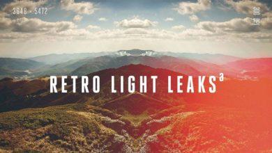 Photo of پکیج کامل افکت نور فتوشاپ وینتج رترو (عکس های قدیمی) Retro Light Leaks