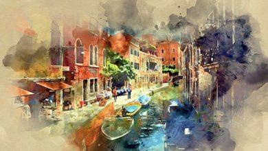 Photo of دانلوداکشنآبرنگیفتوشاپ به همراه آموزش ویدئویی watercolor photoshop action