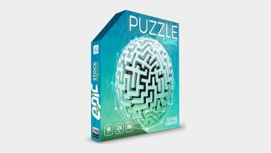 افکت صوتی بازی ویدئویی موبایل Puzzle Game - Sound Effects Library
