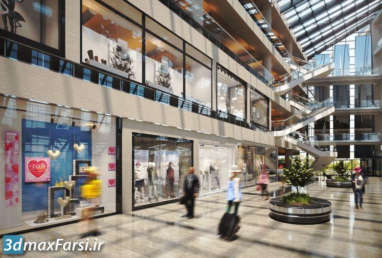 دانلود رایگان آرک مدل ویترین مغازه فروشگاه پاساژ Evermotion - Archmodels Vol 178