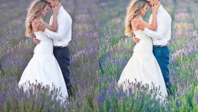 دانلود پریست لایت روم برای عکس عروسی Lightroom Preset The Bouquet
