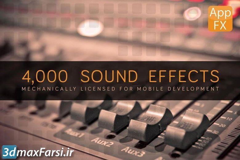دانلود افکت صوتی اپلیکیشن App FX Sound Effects Library
