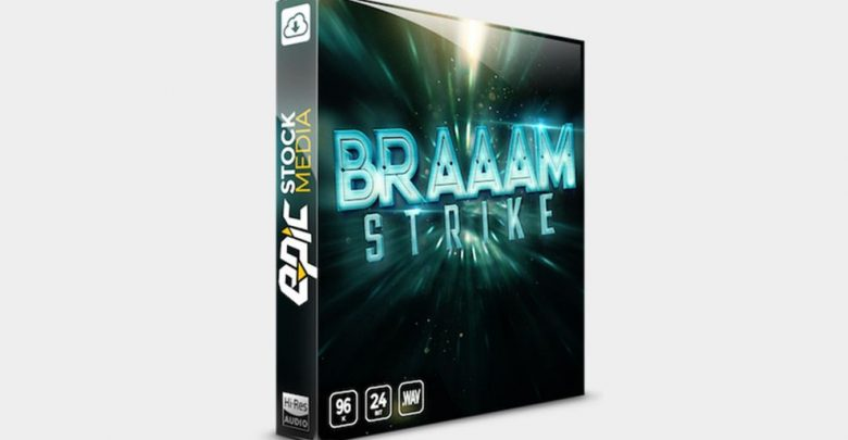 پکیج افکت صدا تریلر فیلم BRAAAM Strike | Cinematic Sound Effects Library