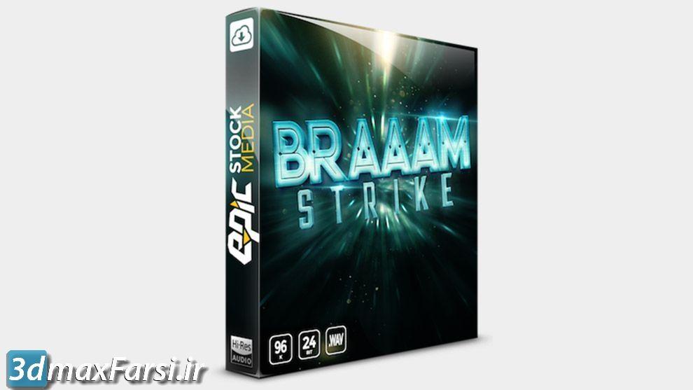 پکیج افکت صدا تریلر فیلم BRAAAM Strike | Cinematic Sound Effects Library