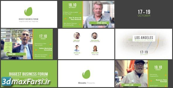 پرومو تیزر تبلیغاتی مراسم انجمن Business Forum   Event Promo